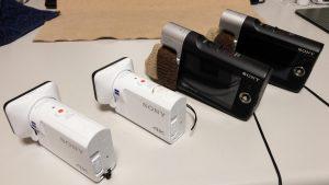 FDR-X3000とSony MV1