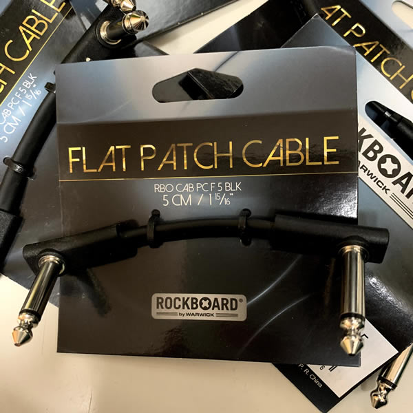 Warwick L字型パッチケーブルRockBoard Flat Patch Cable 5cm